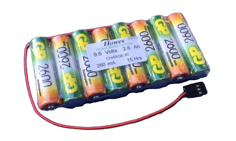 9.6v Transmitter Packs
