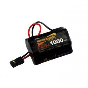1000mAh AAA 6v Hump RX Receiver Battery Pack