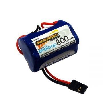 6 volt 800mah rx pack