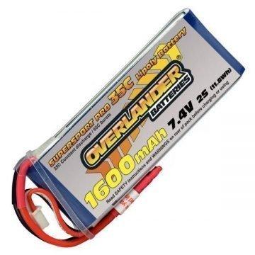 7.4v Li-Po Batteries