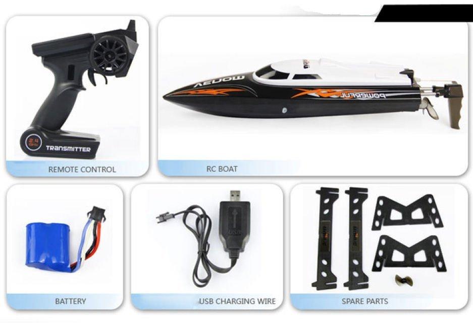 Udi Power Venom Speed Boat With Self Righting Udi001 Howes Models
