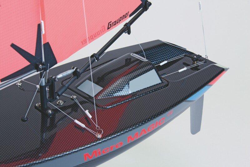 Graupner Micro Magic Carbon Edition Racing Sailing Boat   Howes Models