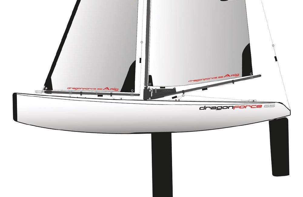 Joysway Dragon Force 65 Radio Controlled Yacht V6 RTR