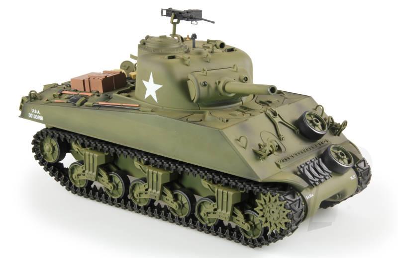 f158047c8ad3 Heng Long 1 16th U.S.M4A3 Sherman RC Tank Sound and Smoke Version ...