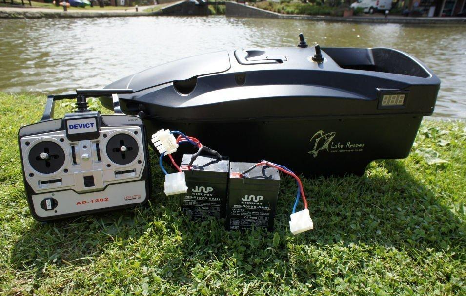 Lake Reaper Bait Boat Black