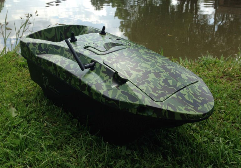 Lake Reaper Bait Boat Camouflage Howes Models