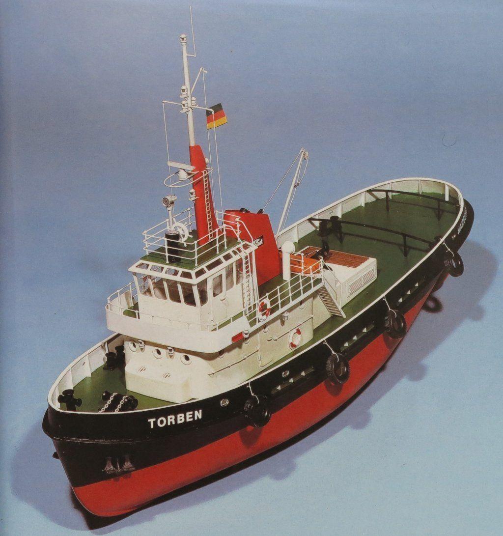 Aeronaut Torben, Modern Hamburg Harbour Tug AN3031/03 Inc ...