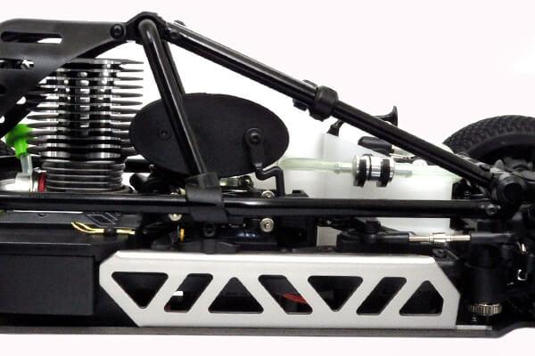 HOBAO HYPER CAGE BUGGY RTR W/MACH*28 ENGINE - BLACK