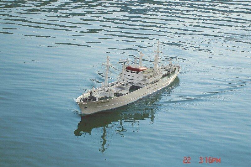Graupner Cap San Diego Premium Line B 2011 Howes Models