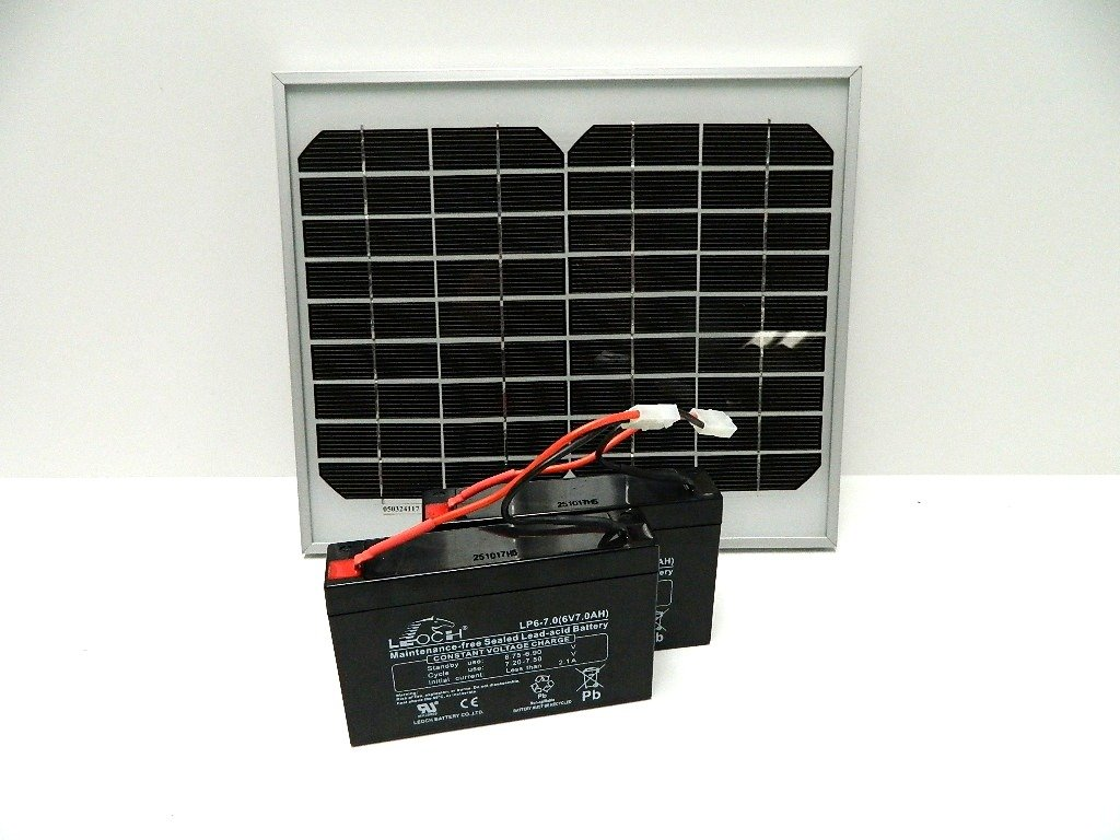 Solar Panel Charger For The Microcat Bait Boat Batteries
