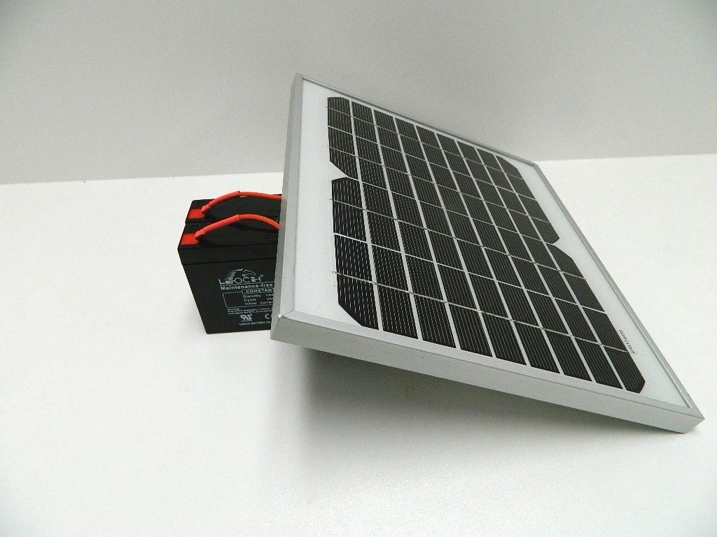 Solar Panel Charger For The Viper And Waverunner Bait Boat