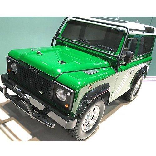 tamiya r c land rover defender 90 cc 01 model kit 58657. Black Bedroom Furniture Sets. Home Design Ideas
