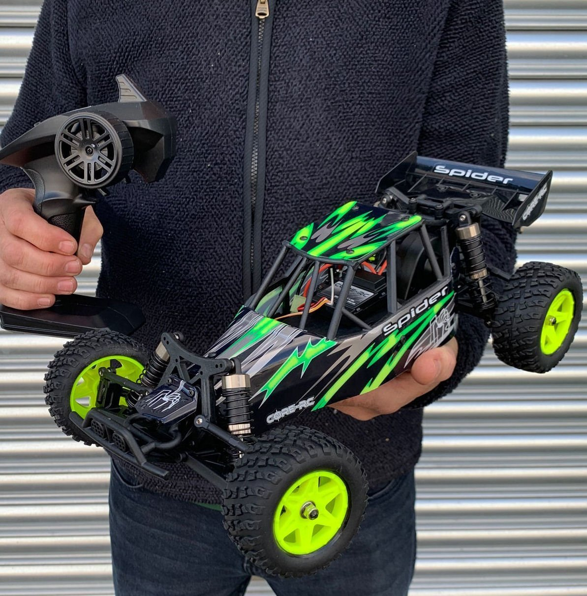 Rc Rc: Core RC Spider Radio Control Car Buggy – Lime
