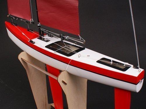 WP GR 65 Sailing Yacht 90% Assembled Including Sail Arm and Rudder Servo