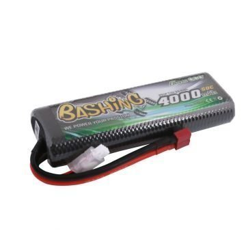 Li-Po Car Hard Case 2S 7.4V 4000mAh 50C with T-Type