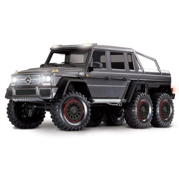 TRX-6 6x6 Mercedes G63 Silver