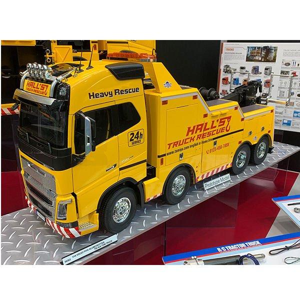 Tamiya Volvo FH16 Globetrotter 750 8x4 Tow Truck 1:14 56362