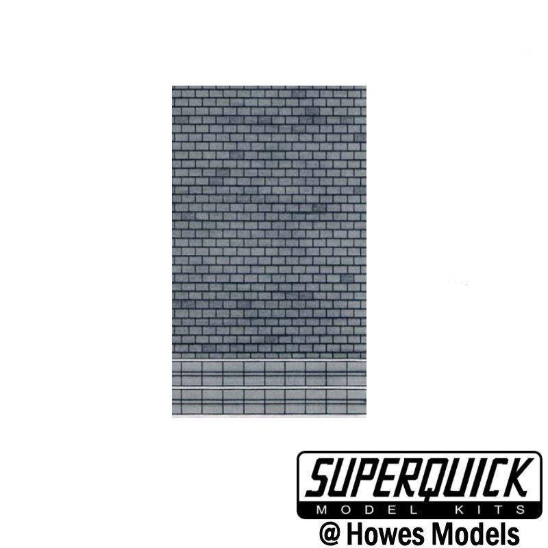 D5 SUPERQUICK PAPERS GREY SLATES SIX PER PACKET