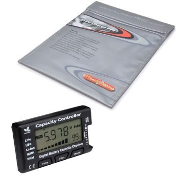 Li-PO Safety Charging Bags / Battery Testers