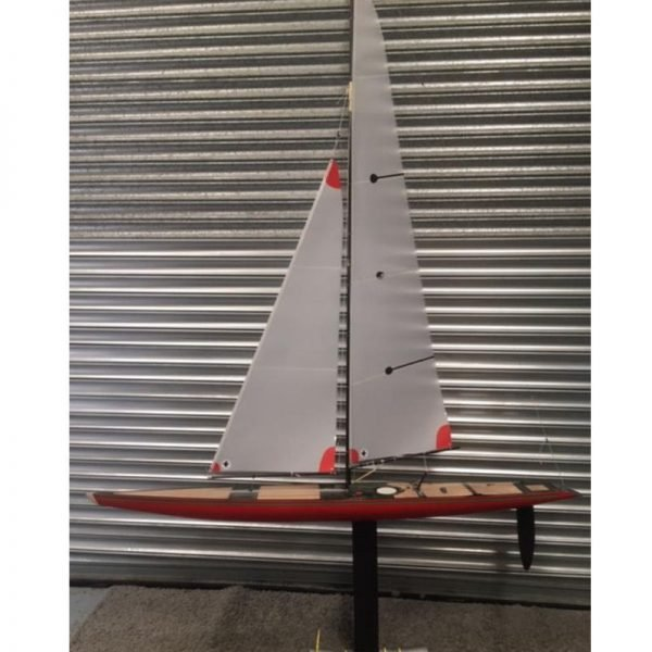 Large Scale Model Racing Sailing Yacht