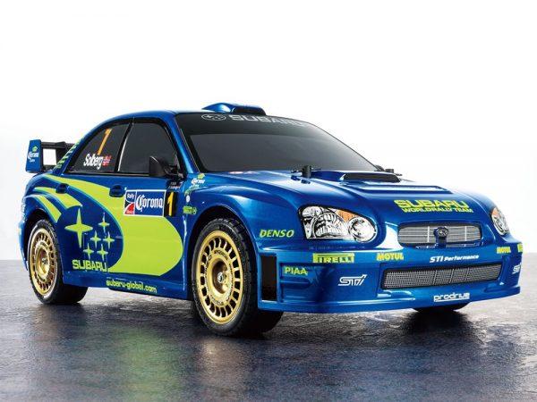 Tamiya RC Subaru Impreza Mexico 2004