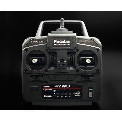 Futaba 4ch (YWD) Combo 2.4G FHSS R214GFE